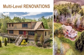 Multi-Level RENOVATION - Multi-Level IMPRESSIVE RENOVATION