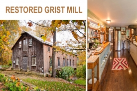 1856 Renovated Grist Mill - PRIVATE - VIEWS - WATERFALL STREAM - STUNNING