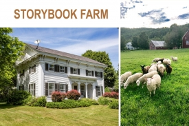 STORYBOOK FARM a Charming and Historic Property - c. 1840 Beautifully RENOVATED FARMHOUSE