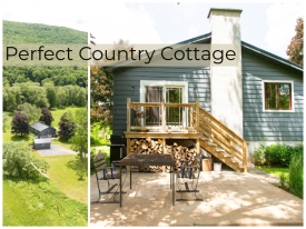 Custom Redesigned Cottage - Secret Hideaway Cottage