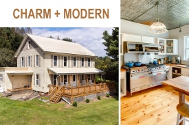 CHARMING FARMHOUSE with Amazing VIEWS! - Spectacular CHEF'S KITCHEN