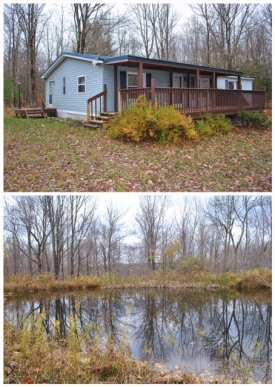 Wooded Recreation - Wooded land with trails, pond