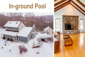LOCATION -- LOCATION -- LOCATION - In-ground HEATED SWIMMING POOL with Cabana.
