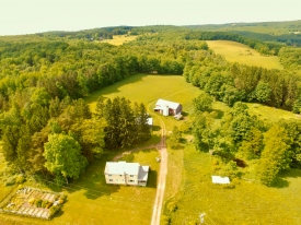 Farmhouse, Barn and Swimming Pond on 114 Acres! - 114 Pristine Acres Sullivan County NY