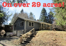 ESCAPE TO THE BEAUTIFUL CATSKILLS - MOVE IN READY! Newly renovated.