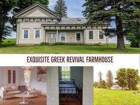 Exquisite Greek Revival Farmhouse - Exquisite Greek Revival Farmhouse