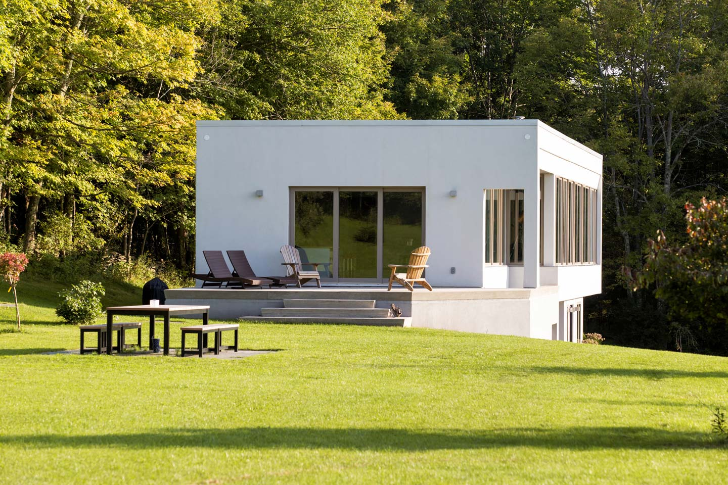 Upstate new york real estate catskills real estate for Modern house upstate ny